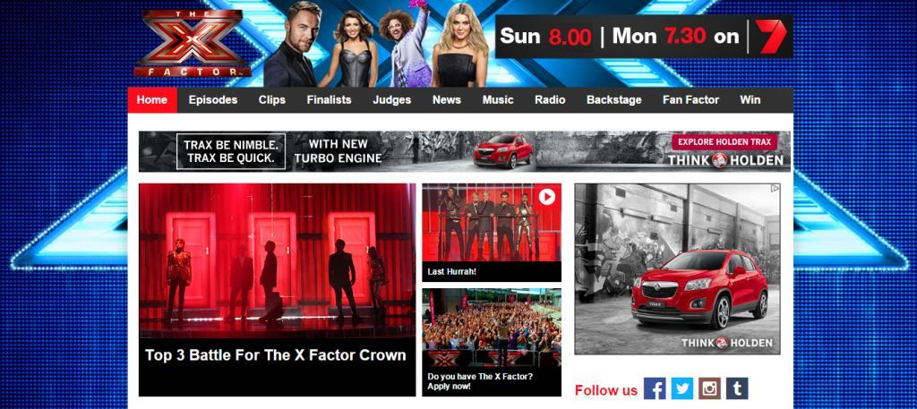 X Factor official website Yahoo7 TV Grand Final live Australia 2014 Marlisa Dean Ray Brothers3 screenshot