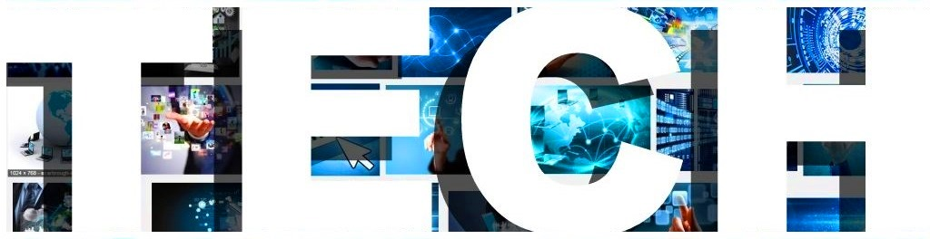 Tech header banner Technology heading images photo pics big white type font
