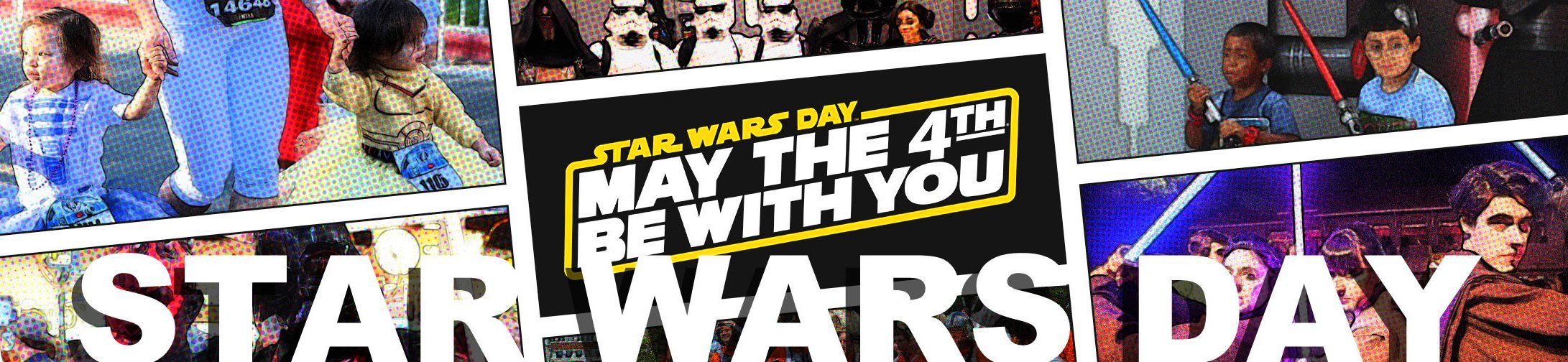 Star Wars Day May The Fourth Be With You official website banner cover header fan photos 4th May 2015