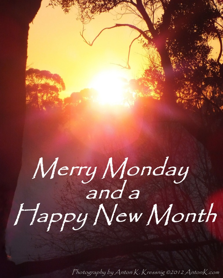 Merry Monday A Happy New Week Meme Quote Photo Of The 1st Day